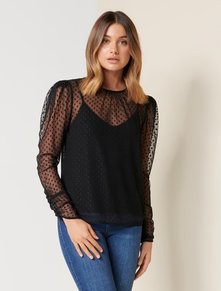 Ever New Kendall Dobby Top