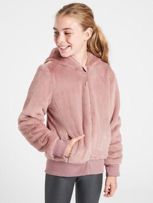 Athleta Girl Furry Flurry Jacket