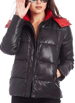 KENDALL + KYLIE Two-Tone Puffer Jacket
