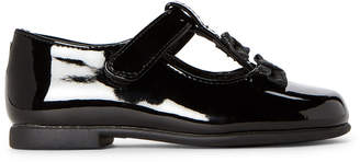 Rachel Toddler Girls) Black Lil Sally T-Strap Patent Flats