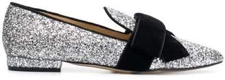 Emanuela Caruso glitter loafers