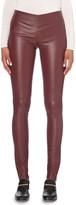 Joseph Skinny high-rise leather leggings