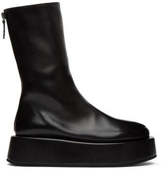 Marsèll Black Plattaforma Boots