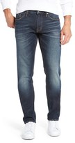 Jean Shop Men's Jim Stretch Selvedge Slim Fit Jeans