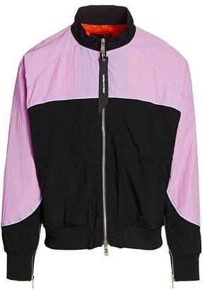 Daniel Patrick Colorblock Bomber Jacket