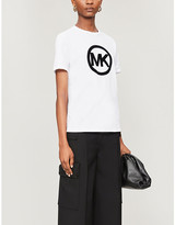 MICHAEL Michael Kors Logo cotton-jersey t-shirt