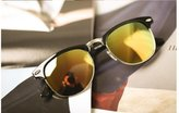 Gant GAMT Retro Half-frame Polarized Sunglasses Wayfarer for Men Frame Glasses Black-Gree