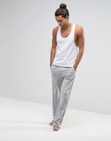 Calvin Klein One Jersey Lounge Pants In Loose Fit