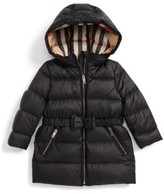 Burberry Infant Girl's Consillia Down Parka