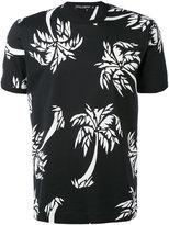 Dolce & Gabbana palm tree T-shirt - men - Cotton - 48