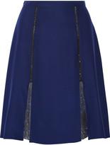 Prabal Gurung Silk-organza skirt