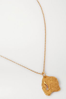 Alighieri Year Of The Goat Gold-plated Necklace
