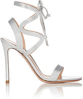 Gianvito Rossi Women's Zigzag-Strap Sandals-RED, PURPLE, SILVER