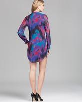 Sweet Pea Tunic Dress - Abstract Print