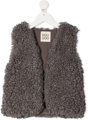Douuod Kids Faux-Shearling Waistcoat