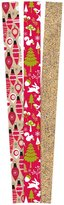 The Gift Wrap Company Holiday Baubles and Gold Premium Gift Wrap Paper - Multicolor - 3ct ct