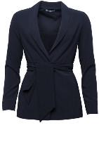 Marville Road - Elena Wrap Blazer - 34 - Blue