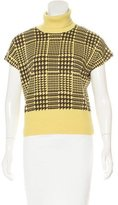 Philosophy di Alberta Ferretti Patterned Wool Top