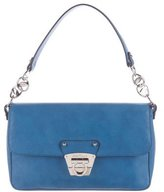 Salvatore Ferragamo Gancio Leather Flap Shoulder Bag