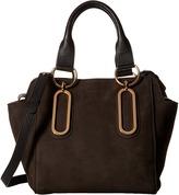 See by Chloe Paige Shoulder Bag in Grained Nubuck Satchel Handbags