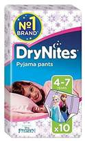 Huggies 4-7 years DryNites for Girls 10 per pack - Pack of 4