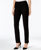 Charter Club Cambridge Diamond Pattern Jacquard Slim-Leg Pants, Only at Macy's