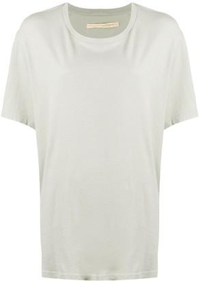 Raquel Allegra oversized longline T-shirt