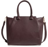 Sole Society 'Jeanine' Satchel - Black