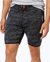 Superdry Men's Slim-Fit Textured Gym Shorts