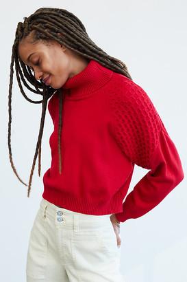 BB Dakota Meggie Turtleneck Sweater By in Purple Size XS