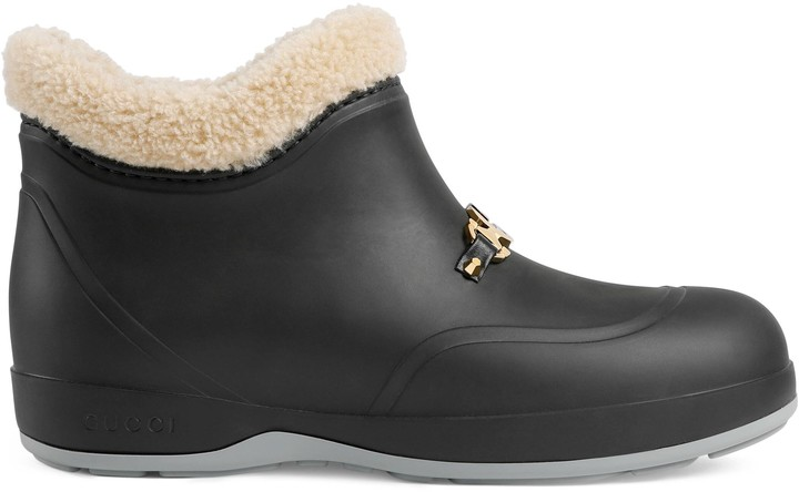 Gucci Men's ankle boot with Horsebit