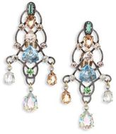Lanvin Crystal Chandelier Earrings
