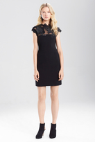 Josie Natori Duchess Satin Dress With Embellishment