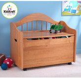 Kid Kraft Personalized Limited Edition Toy Box in Honey