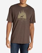 Eddie Bauer Men's Graphic T-Shirt - Woods Elk