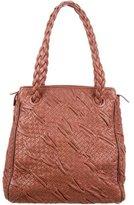 Bottega Veneta Ruched Intrecciato Shoulder Bag
