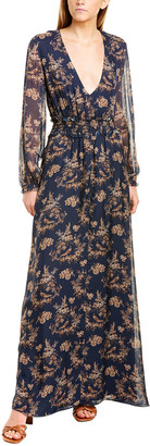 CAMI NYC Rhiannon Silk Maxi Dress