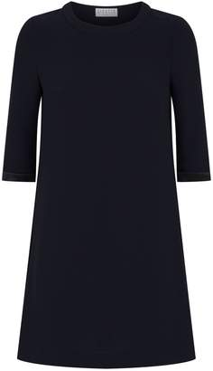 Claudie Pierlot Floral Insert T-Shirt Dress
