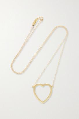 Jennifer Meyer Open Heart 18-karat Gold Necklace