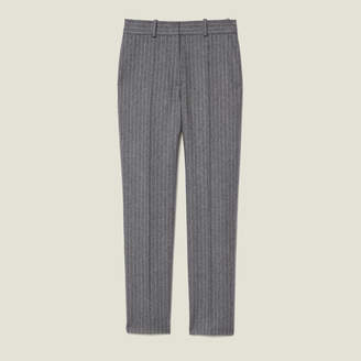 Sandro Flannel pants with pinstripes