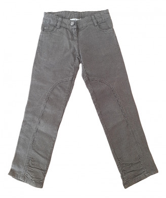 Christian Dior Brown Cotton Trousers