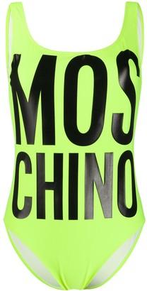 Moschino Logo Print Swimwear
