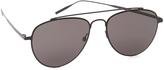 Tomas Maier Ultra Flat Aviator Sunglasses
