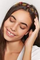 Forever 21 Floral Glitter Headband