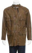 Marni Leather Parka Jacket