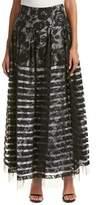 Sachin + Babi Noir Burnout Maxi Skirt.