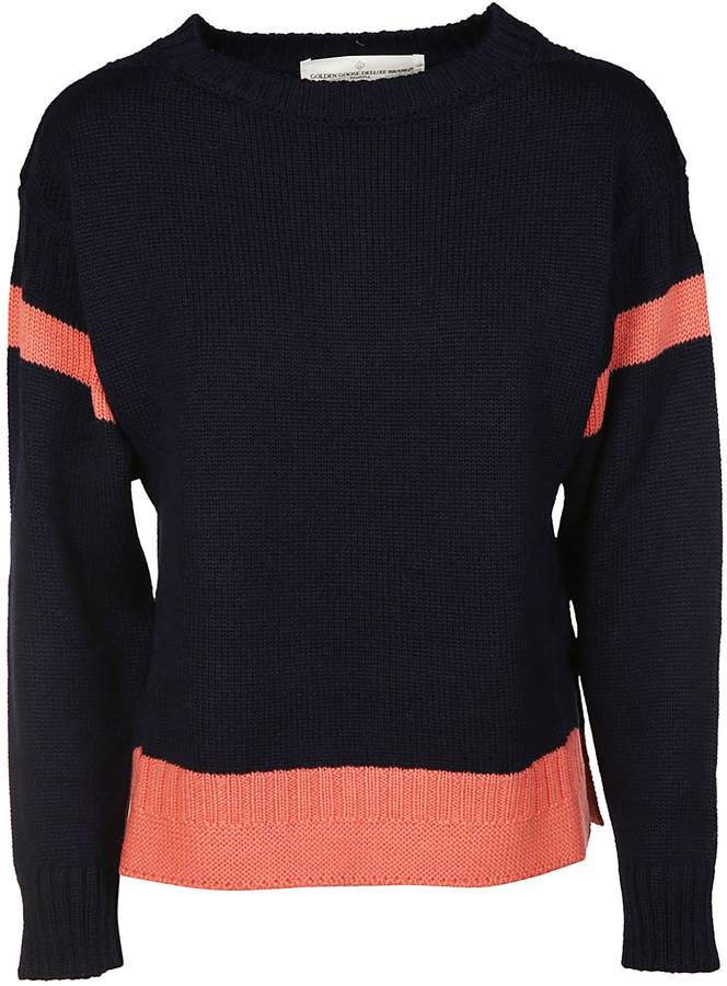 Golden Goose Ribbed Detailed Sweater