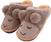 Superneng slippers SPN Fashion Women's Cute cartoon lamb home Indoor and outdoor cotton slippers