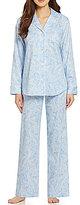 Lauren Ralph Lauren Classic Paisley Sateen Pajamas
