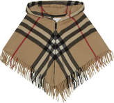 Burberry Victoria wool-cashmere blend cape l